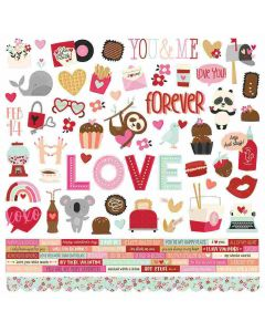 Sweet Talk Cardstock Stickers - Simple Stories*