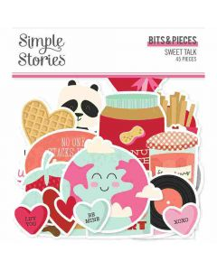 Sweet Talk Bits & Pieces - Simple Stories*