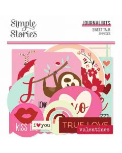 Sweet Talk Journal Bits & Pieces - Simple Stories*