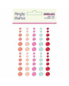 Sweet Talk Enamel Dots - Simple Stories*