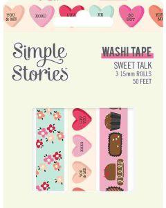 Sweet Talk Washi Tape - Simple Stories*