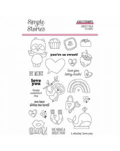 Sweet Talk Stamps - Simple Stories*