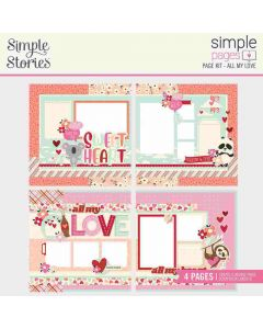 All My Love Simple Page Kit - Sweet Talk - Simple Stories*