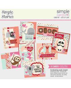 Lots of Love Simple Card Kit - Sweet Talk - Simple Stories