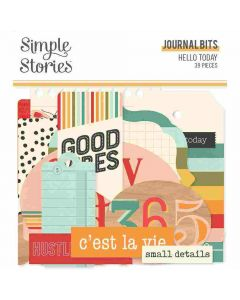 Hello Today Journal Bits & Pieces - Simple Stories