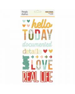 Hello Today Foam Stickers - Simple Stories*