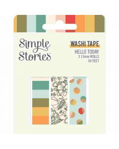 Hello Today Washi Tape - Simple Stories*