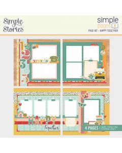 Happy Together Simple Page Kit - Hello Today - Simple Stories*