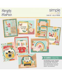 Hello Friend Simple Card Kit - Hello Today - Simple Stories*