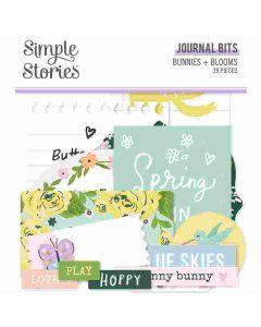 Bunnies + Blooms Journal Bits - Simple Stories*