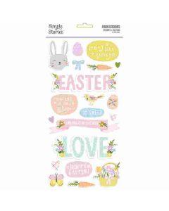 Bunnies + Blooms Foam Stickers - Simple Stories*