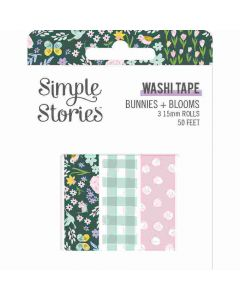 Bunnies + Blooms Washi Tape - Simple Stories*