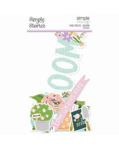 Bloom Page Pieces - Simple Pages - Simple Stories*