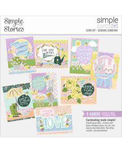 Sending Sunshine Card Kit - Simple Cards - Bunnies + Blooms - Simple Stories