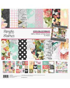 Simple Vintage Cottage Fields Collection Kit - Simple Stories