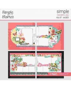 Dreamer Page Kit - Simple Vintage Cottage Fields - Simple Pages - Simple Stories*