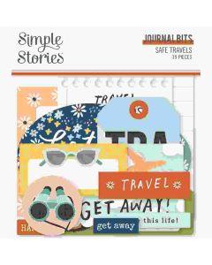 Safe Travels Journal Bits - Simple Stories