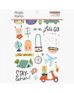 Safe Travels Sticker Book - Simple Stories