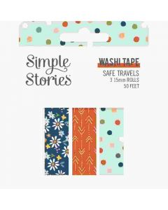 Safe Travels Washi Tape - Simple Stories