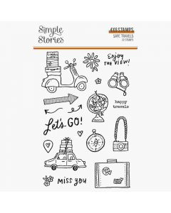 Safe Travels Stamps - Simple Stories
