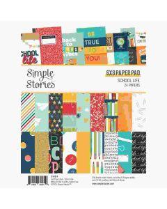 "School Life 6"" x 8"" Paper Pad - Simple Stories*"