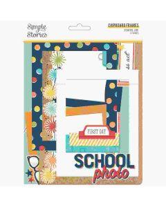 School Life Chipboard Frames - Simple Stories*