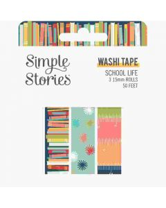 School Life Washi Tape - Simple Stories*