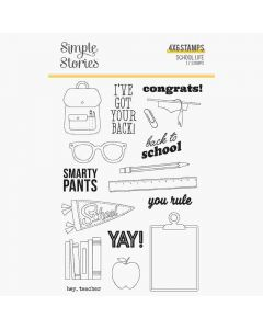 School Life Stamps - Simple Stories*