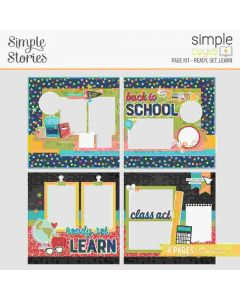 Ready, Set, Learn Simple Pages Kit - School Life - Simple Pages - Simple Stories*
