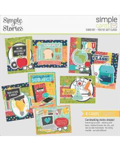 You've Got Class Card Kit - Simple Cards - School Life - Simple Stories