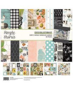 Simple Vintage Farmhouse Garden Collection Kit - Simple Stories