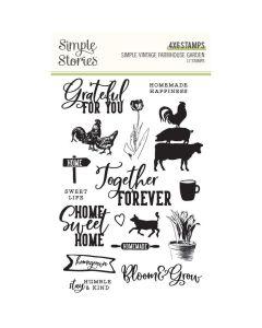 Simple Vintage Farmhouse Garden Stamps - Simple Stories
