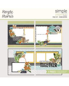 Homegrown Page Kit - Simple Pages - Simple Vintage Farmhouse Garden - Simple Stories
