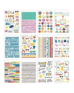 Sunkissed Sticker Book - Simple Stories