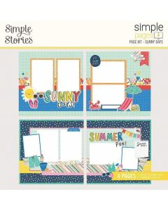 Sunny Days Page Kit - Simple Pages - Sunkissed - Simple Stories