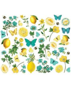 Floral Bits & Pieces - Simple Vintage Lemon Twist - Simple Stories