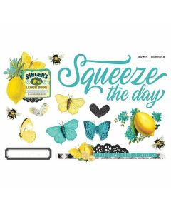 Squeeze the Day Page Pieces - Simple Pages - Simple Vintage Lemon Twist - Simple Stories