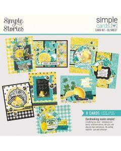 So Sweet Card Kit - Simple Cards - Simple Vintage Lemon Twist - Simple Stories