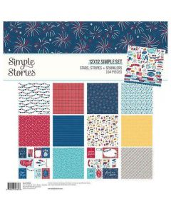 Stars, Stripes + Sparklers Collection Kit - Simple Stories