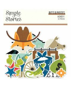 Howdy! Bits & Pieces - Simple Stories