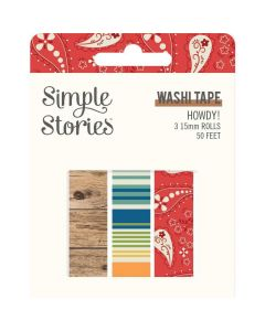 Howdy! Washi Tape - Simple Stories