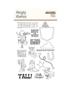 Howdy! Stamps - Simple Stories