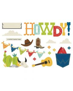 Howdy! Page Pieces - Simple Pages - Simple Stories