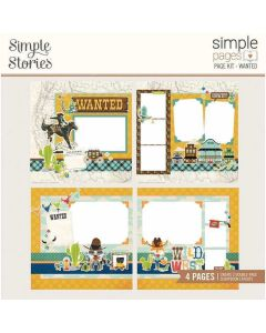 Wanted Page Kit - Simple Pages - Howdy! - Simple Stories