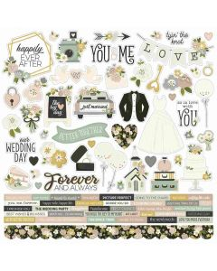 Happily Ever After Cardstock Stickers - Simple Stories