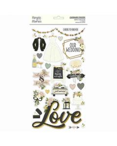 Happily Ever After Chipboard - Simple Stories