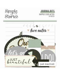 Happily Ever After Journal Bits - Simple Stories