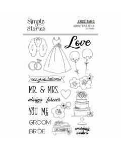 Happily Ever After Stamps - Simple Stories