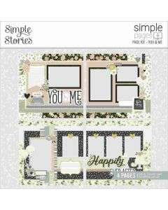 You & Me Page Kit - Happily Ever After - Simple Pages - Simple Stories*