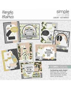 Just Married Card Kit - Simple Cards - Happily Ever After- Simple Stories